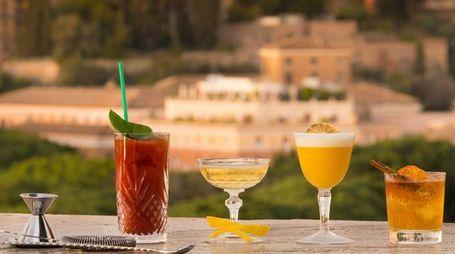 Un dettaglio della locandina della Roma Cocktail Week – Foto: spiritsevent.com