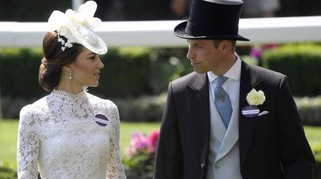 Kate Middleton, look in pizzo trasparente. Incanta al Royal Ascot