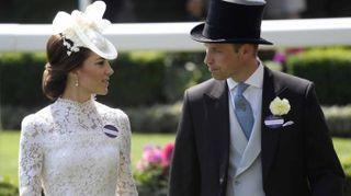 Kate Middleton, look in pizzo trasparente. Incanta al Royal Ascot