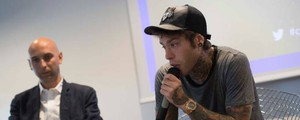 Fedez alla conferenza di Soundreef (ImagoE)