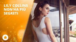 Lily Collins: 'Ero anoressica, ma ora...'