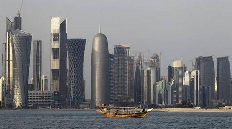 Qatar, la città di Doha (Ansa)