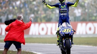MotoGp Assen 2017, le foto. Rossi sale in cattedra