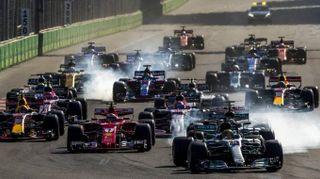 F1 Gp Baku 2017, la gara