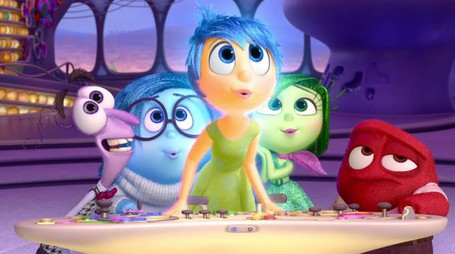 Foto di repertorio dal film Inside Out