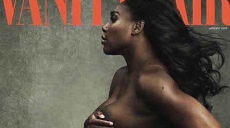 Serena Williams sulla copertina di Vanity Fair