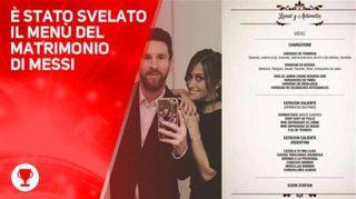 Cosa si mangerà al matrimonio di Messi? Ecco il menù!