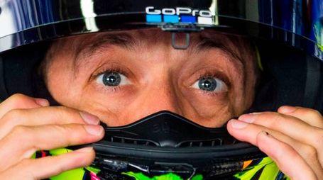 MotoGp Germania, Valentino Rossi ci crede (foto Afp)
