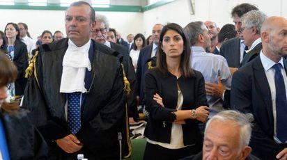 Mafia capitale, per la sentenza in aula anche Virginia Raggi (ImagoE)