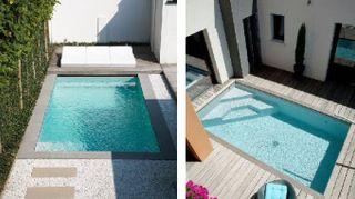 Piccole piscine per giardini extra small