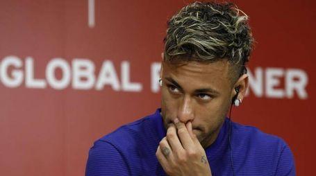 Neymar, si tratta con il Psg (foto Ansa)