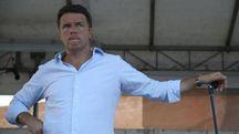 Matteo Renzi alla Festa dell'Unità di Poggibonsi (Ansa)