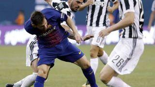 Calcio:Juve tanti campioni ma show Neymar, Allegri ottimista