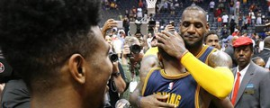 LeBron James e Kyrie Irving (LaPresse)