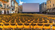 La piazza grande di Locarno allestita per il Festival – Foto: VogelSP/iStock