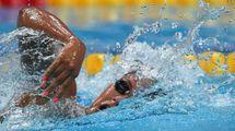 Mondiali di nuoto 2017, Simona Quadarella bronzo nei 1.500 stile libero (foto Afp)