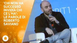 Tra haters e futuro:due chiacchiere con Roberto Saviano