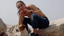 Dalila Iafelice, 28 anni, con il suo cane /Facebook