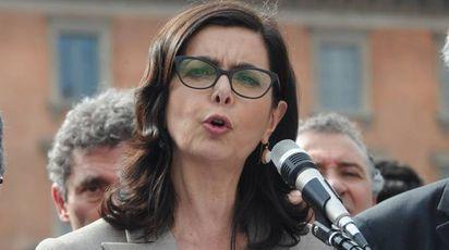 Laura Boldrini, presidente della Camera (Newpresse)
