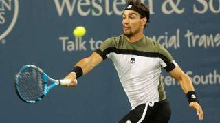 Tennis: Cincinnati, eliminato Fognini