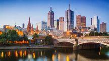 Melbourne al crepuscolo – Foto: kokkai/iStock
