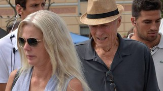 Clint Eastwood a Venezia sul set del nuovo film