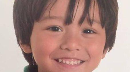 Julian Cadman, 7 anni