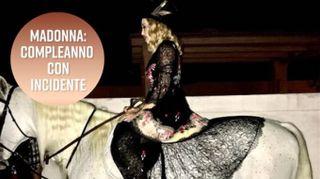 Curioso incidente al compleanno di Madonna