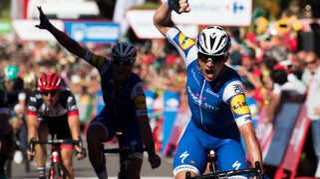 Vuelta 2017, numero di Lampaert. Ordine d'arrivo e classifica