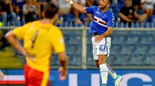 Serie A: Sampdoria-Benevento 2-1