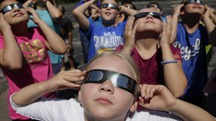 Eclissi totale di sole (Ansa)