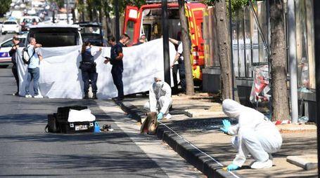 Auto contro pedoni a Marsiglia (Afp)