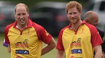 I principi Harry e William – Foto: Joe Giddens/PA Wire/LaPresse