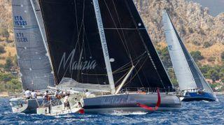 Vela, partita la regata Palermo-Montecarlo