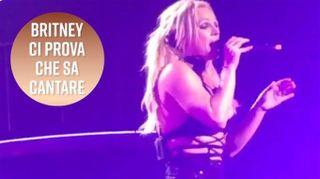 Britney Spears non sa cantare? Guardate qui...