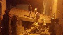 Terremoto a Ischia, danni e crolli a Lacco Ameno (Ansa)