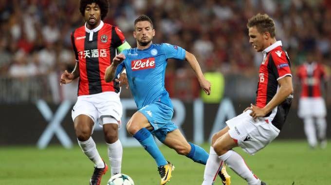 Nizza-Napoli 0-2, gli azzurri conquistano la Champions
