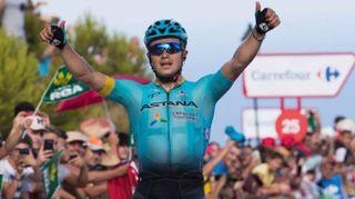Vuelta 2017, quinta tappa a Lutsenko