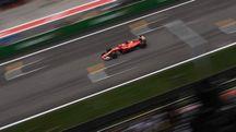 La Ferrari di Sebastian Vettel (Afp)