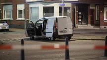 Rotterdam, il mezzo che ha fatto scattare l'allarme al Maassilo (Ansa)
