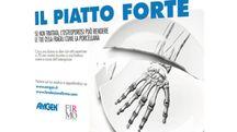 Poster della campagna di prevenzione Firmo - Amgen contro l'osteoporosi