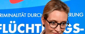 Alice Weidel, leader Afd (Afp)