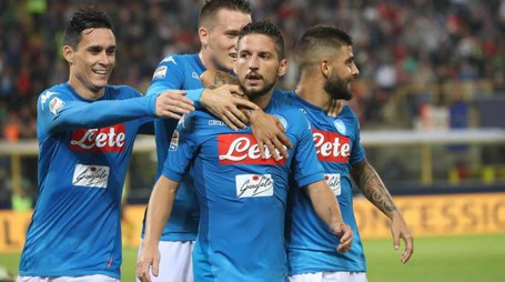 Napoli-Feyenoord, Mertens e compagni (Ansa)