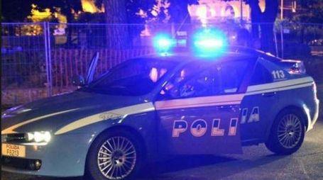 La polizia in azione