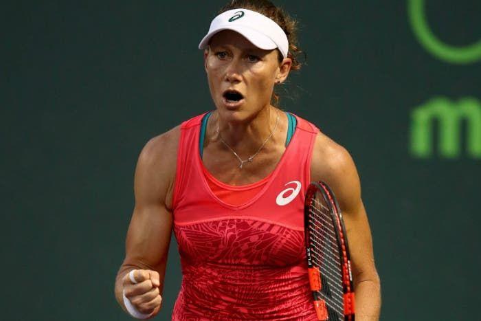 WTA Strasburgo: fuori Puig, debordante Stosur