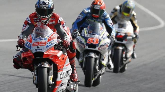 Motogp Catalunya 2018, Lorenzo in pole. La griglia di partenza