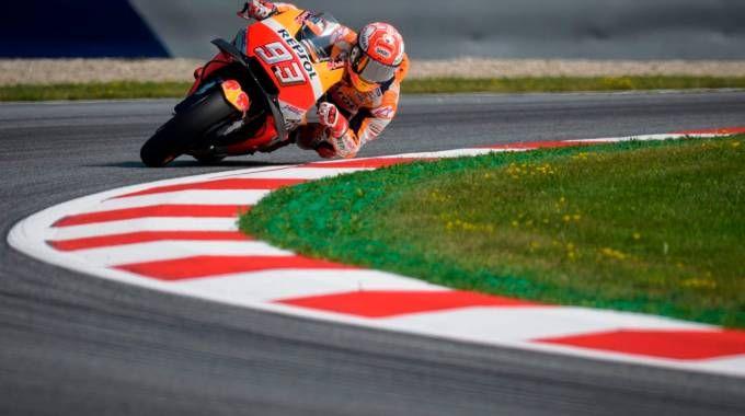 MotoGp Austria 2018, Marquez il più veloce nelle libere 3. Risultati e tempi