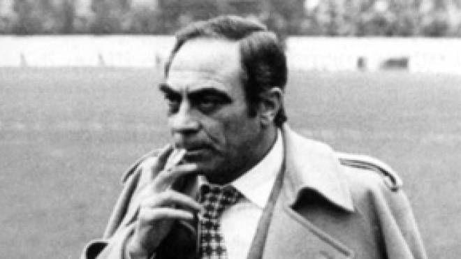Bruno Pesaola ai tempi della Fiorentina