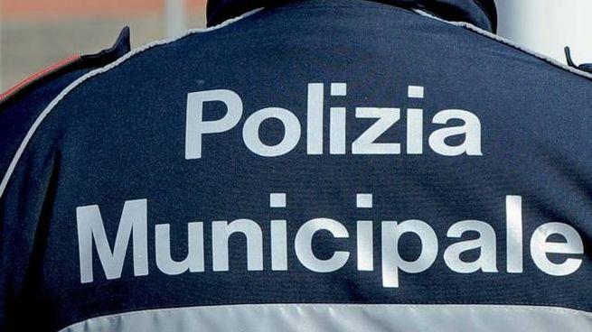 Un agente della polizia municipale (Foto d'archivio)