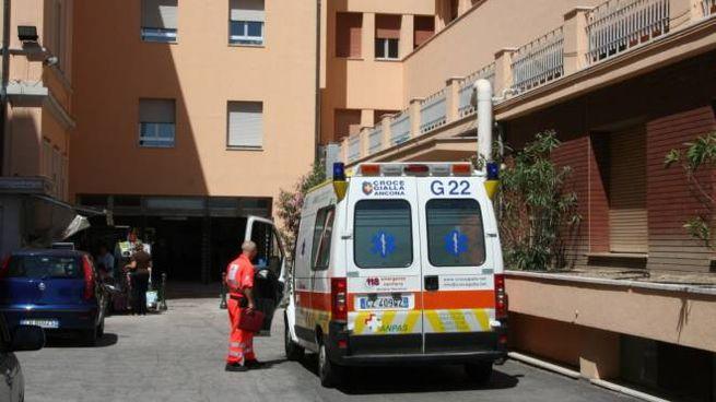 L'ospedale pediatrico Salesi di Ancona (Foto Antic)